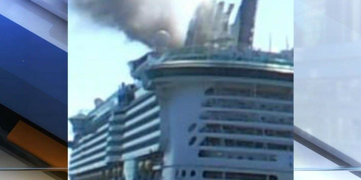 Fire reported on Royal Caribbean Freedom of the Seas cruise ship