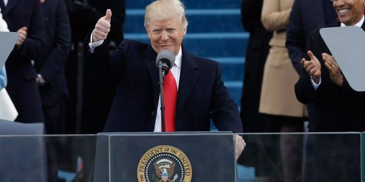 Full text of Pres. Trump's inauguration speech