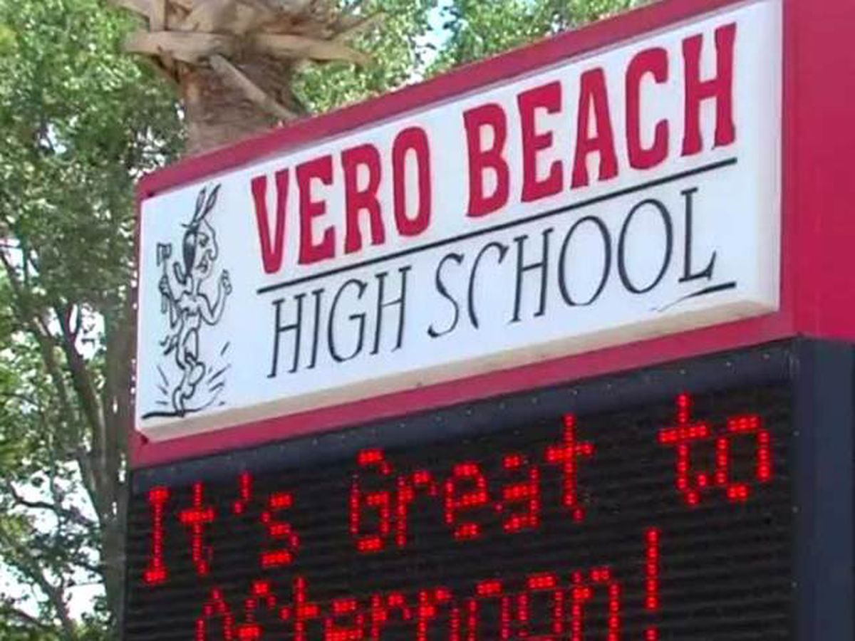 Vero Beach High School student tests positive for COVID-19
