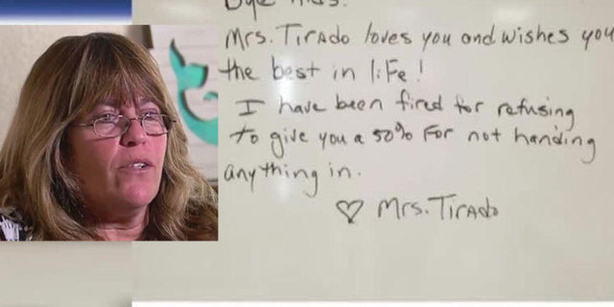 teacher upset about no zero grading policy