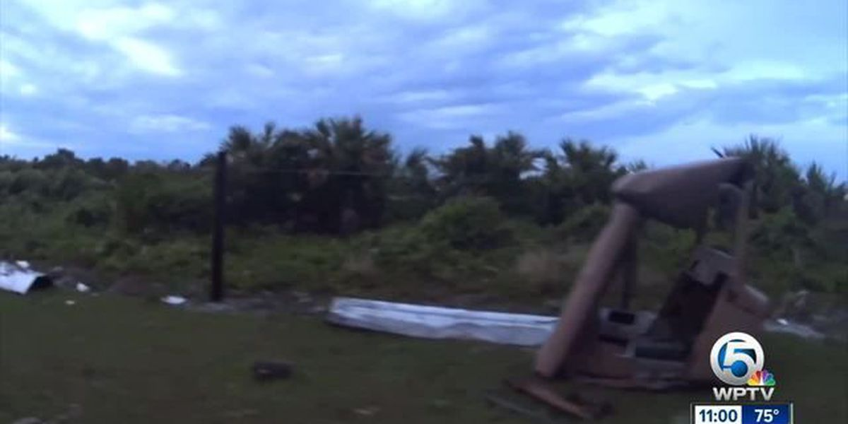 NWS: Tornado touches down in NW Martin County