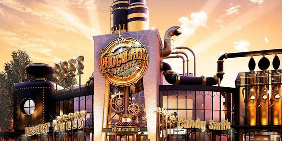 Willy Wonka chocolate restaurant coming to Universal Orlando