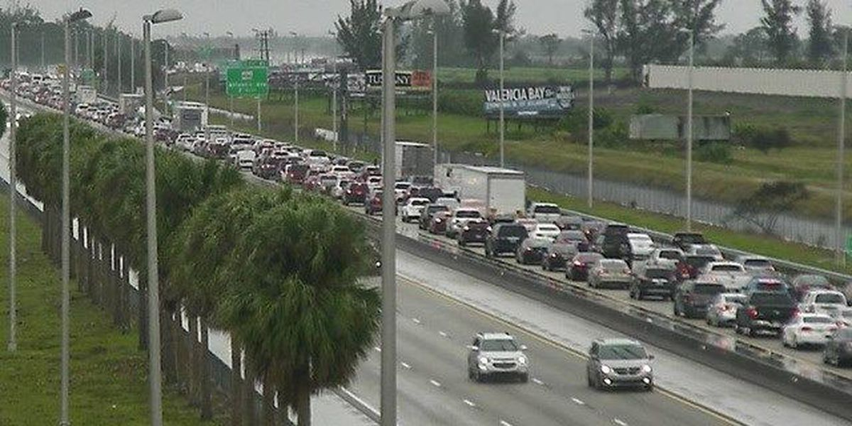 2 Injured in rollover crash on the Fla. Turnpike