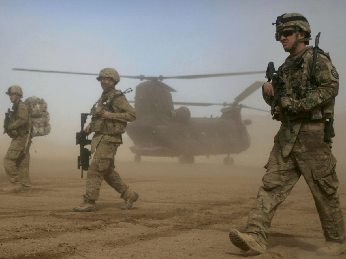 US considers leaving smaller number of troops in Afghanistan