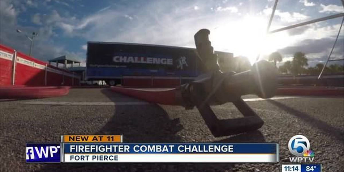 Firefighter Combat Challenge comes to Ft. Pierce