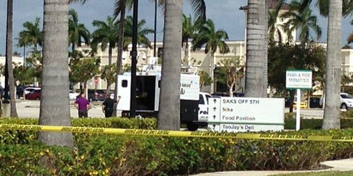 Lockdown lifted at Palm Beach Outlets