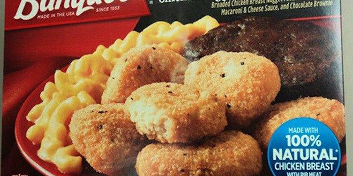 Banquet chicken nugget meals recalled