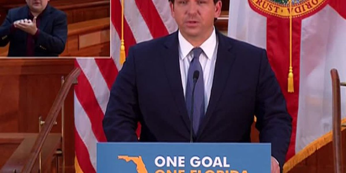 Gov. DeSantis gives update on Tropical Storm Isaias