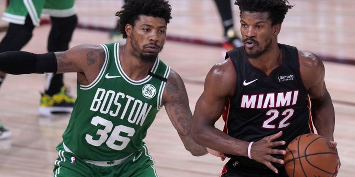 Celtics top Heat 117-106, cut deficit to 2-1