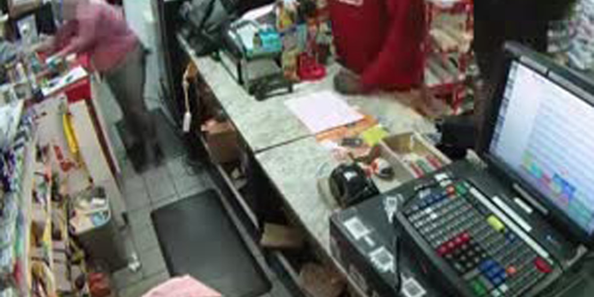 Dramatic video of Fort Pierce gas station crime
