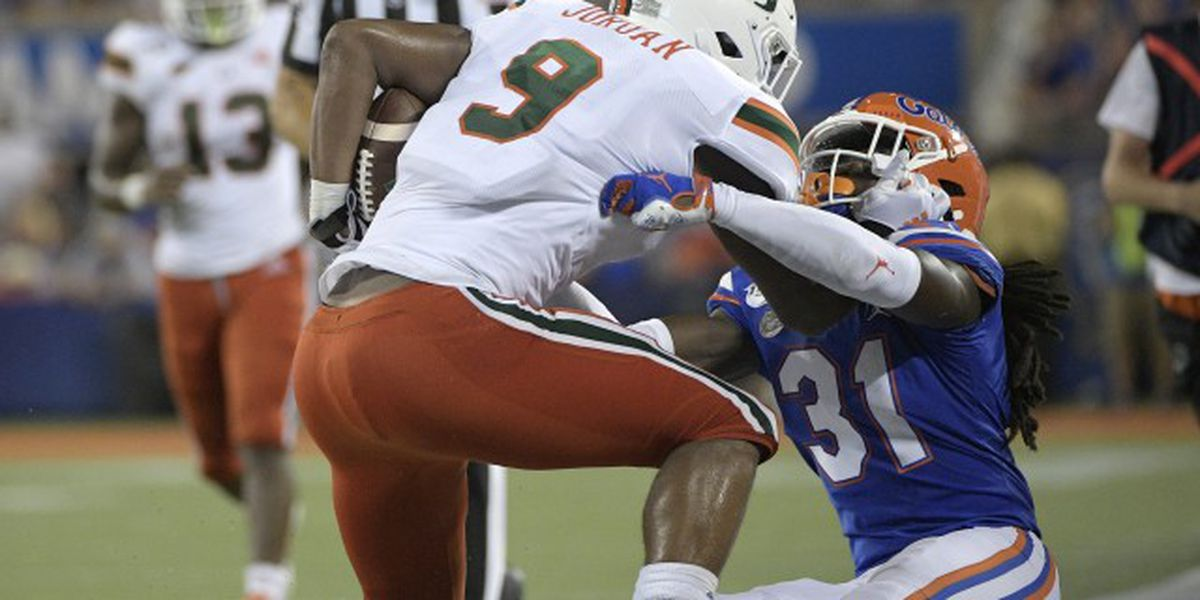 Gators, 'Canes among top 10 of playoff rankings