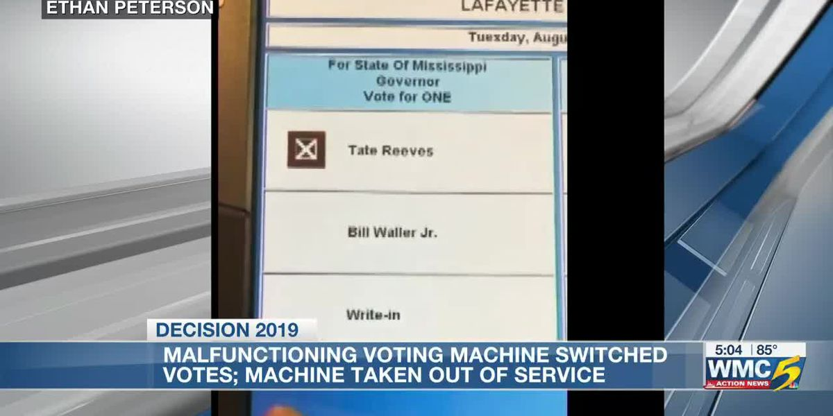 Oxford voters face issues with malfunctioning voting machines