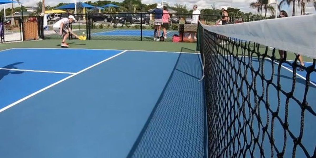 Pickleball players want more courts in Boca Raton