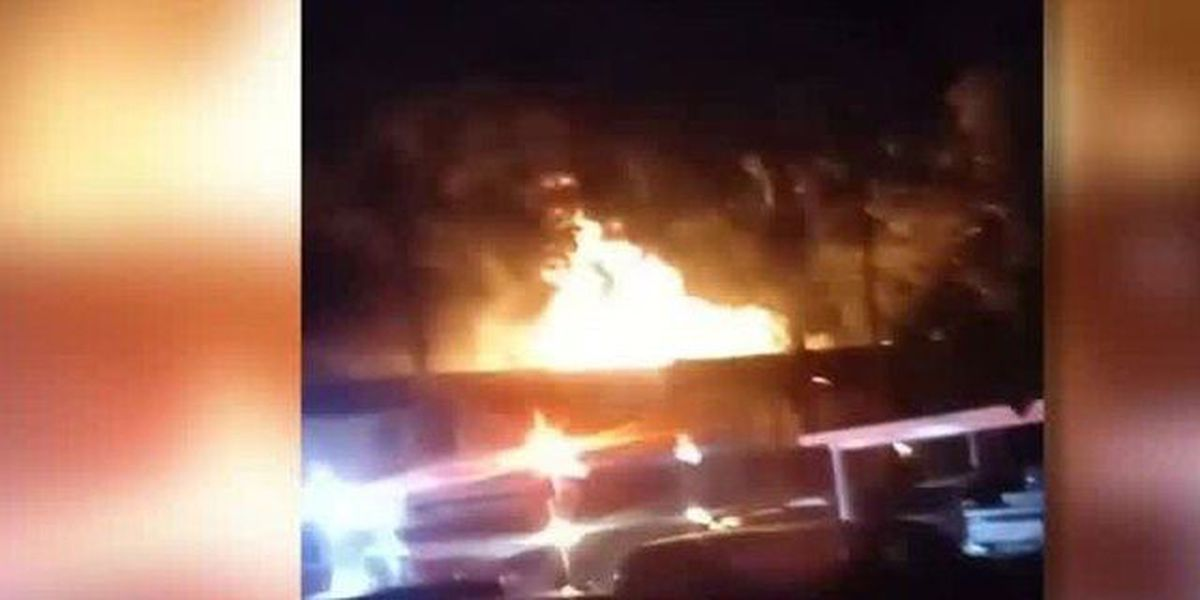 Fire near Greenacres displaces 10 families
