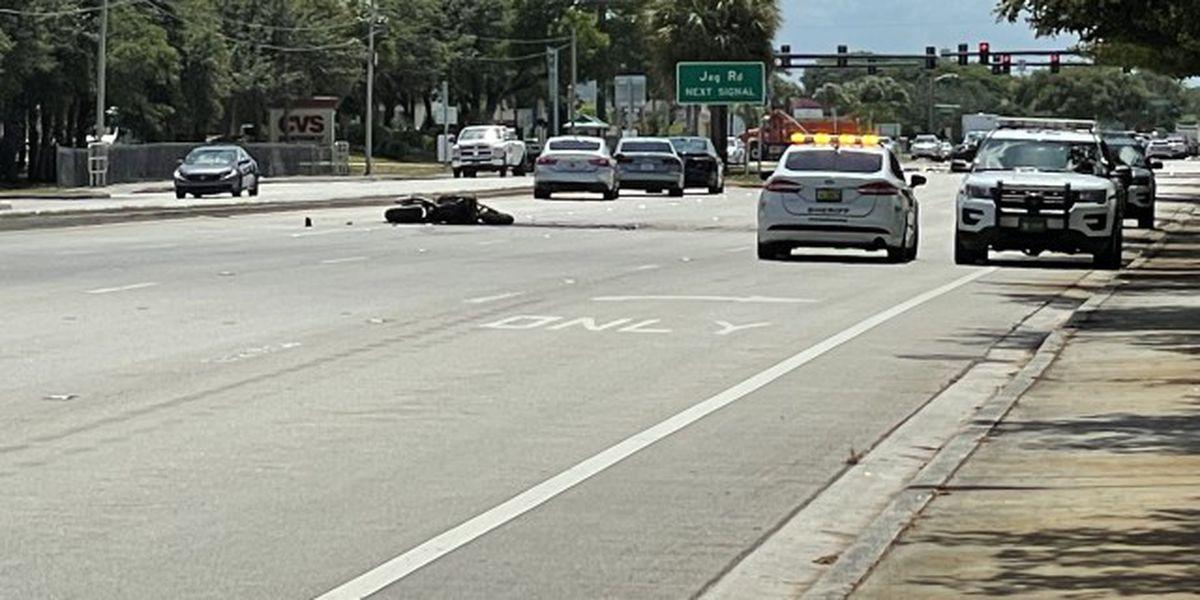 Motorcyclist injured in crash near Delray Beach