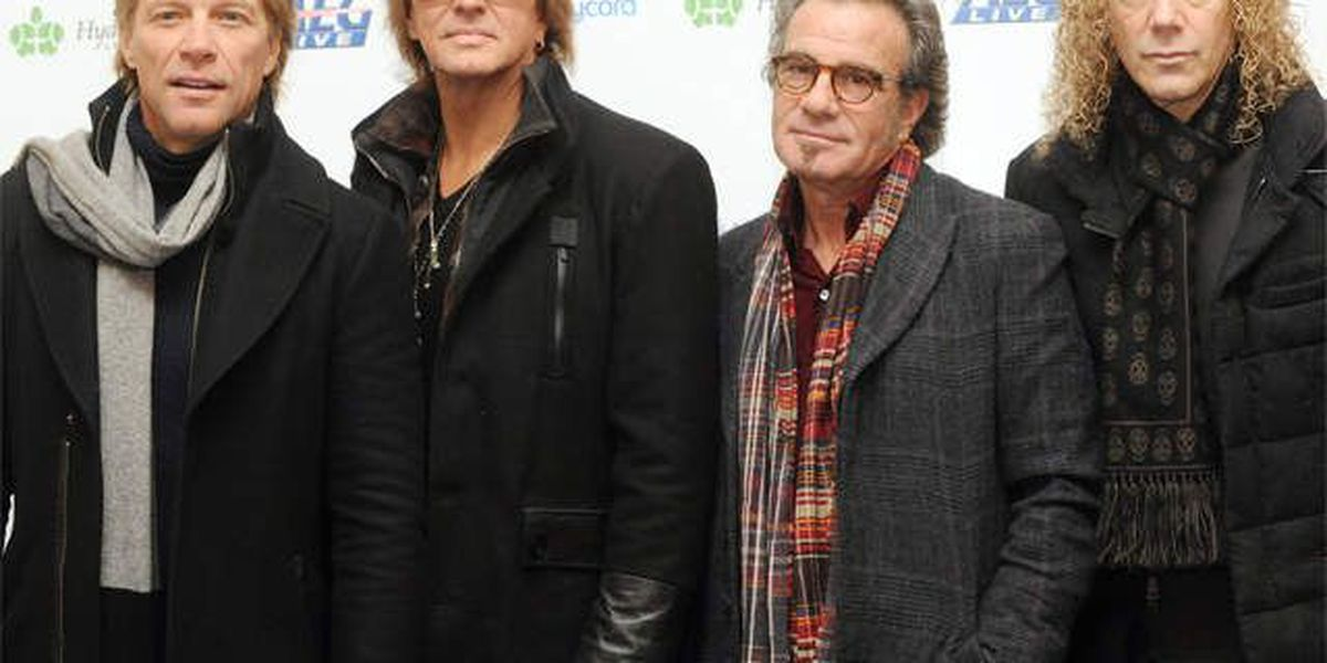 Bon Jovi & others to be inducted into Rock Hall