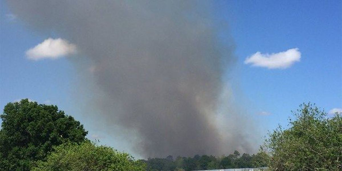 Martin County brush fire fully contained