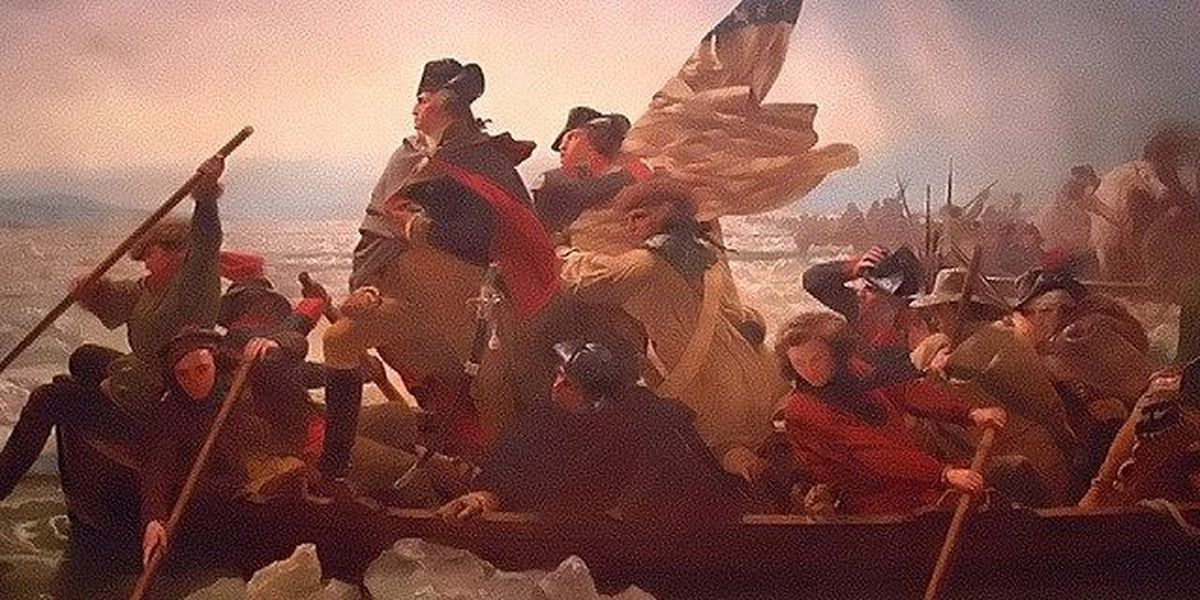 Re-enactors set for Washington's river crossing