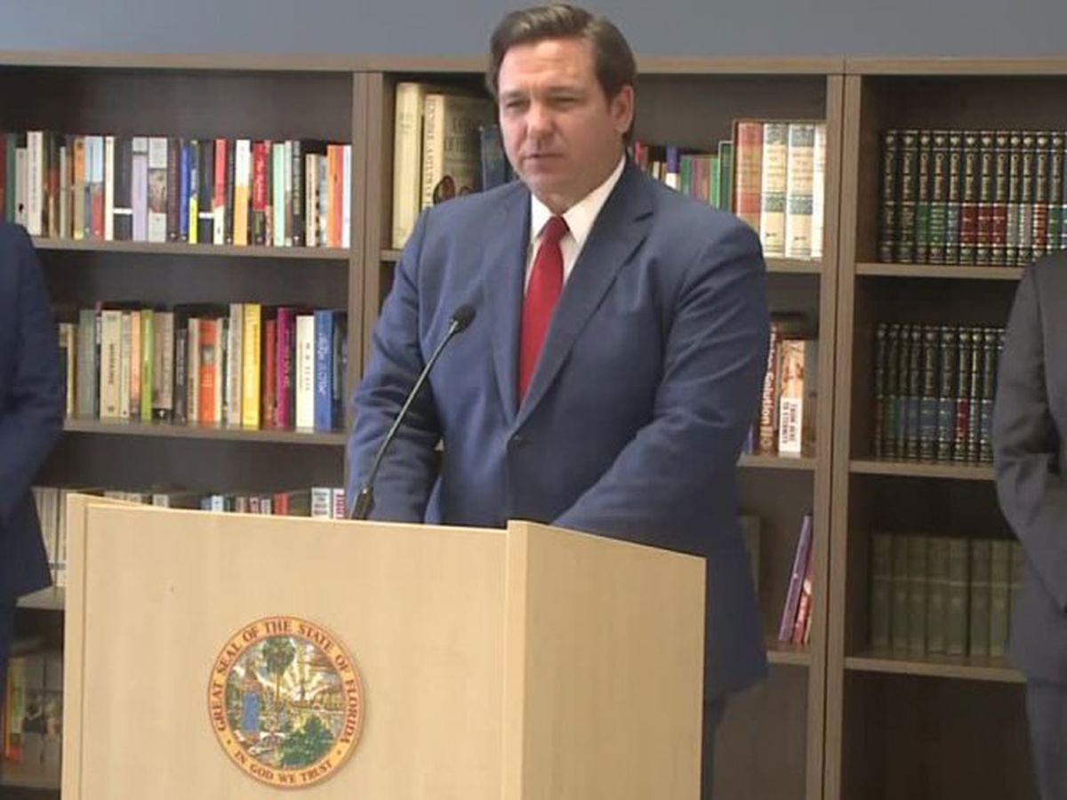 'School closures should be off the table,' Gov. DeSantis says