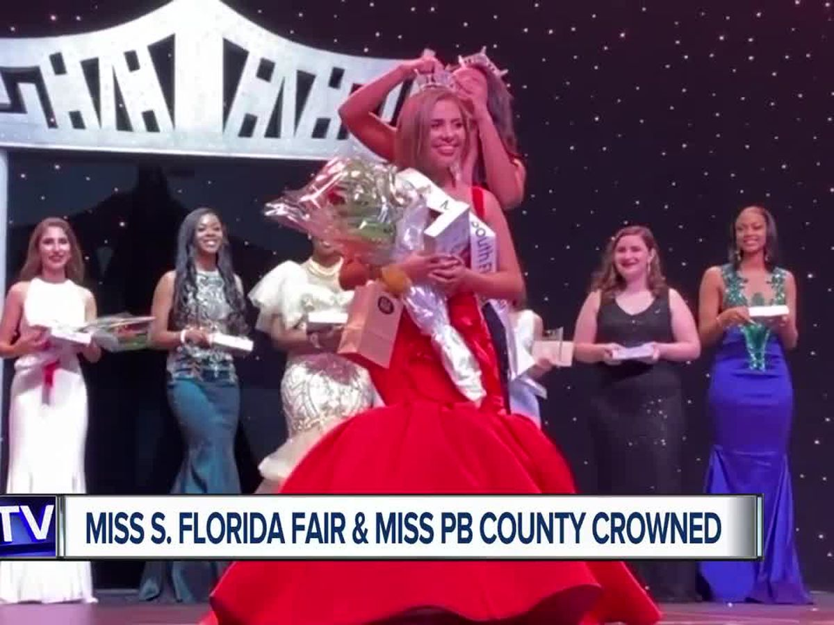 Miss South Florida Fair, Miss Palm Beach County crowned