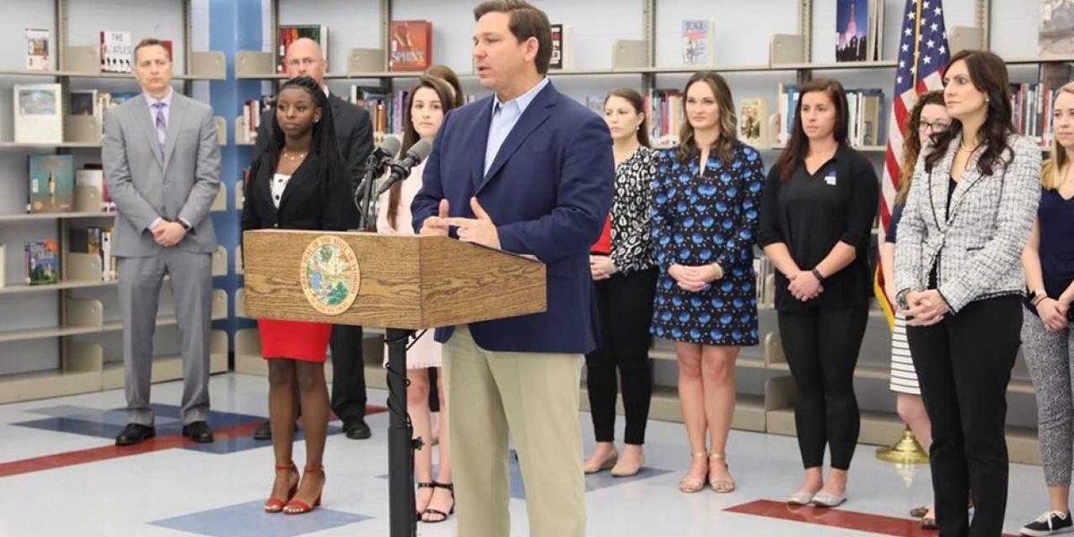 Gov. DeSantis announces plan to give Florida teachers $422 million in bonuses