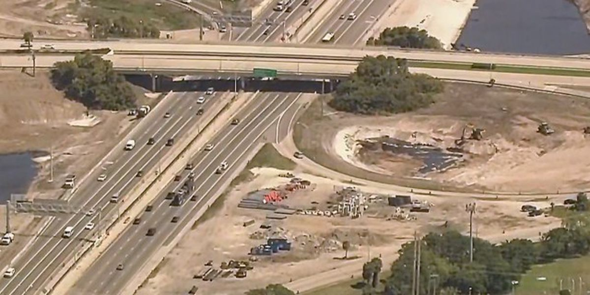 How much longer will construction last on I-95 in Palm Beach County?