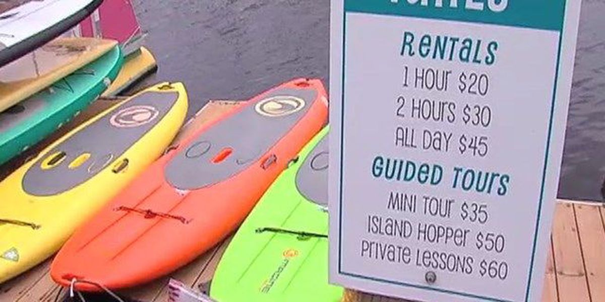License for canoes, kayaks, paddle boards?