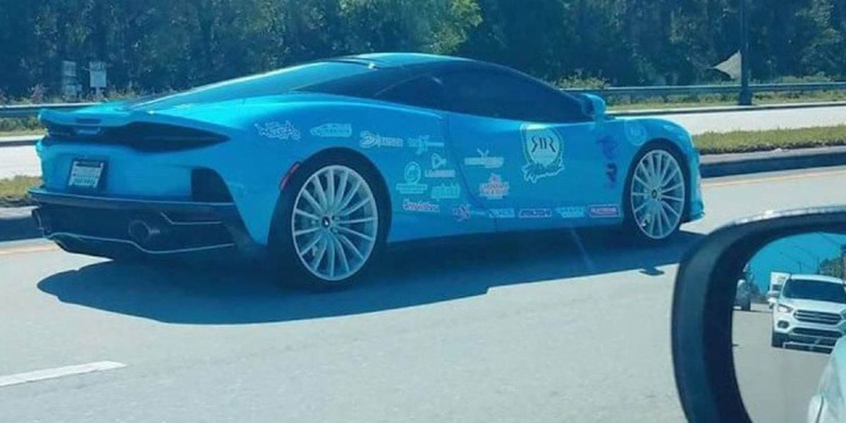 Drivers of exotic cars participating in charity rally ticketed