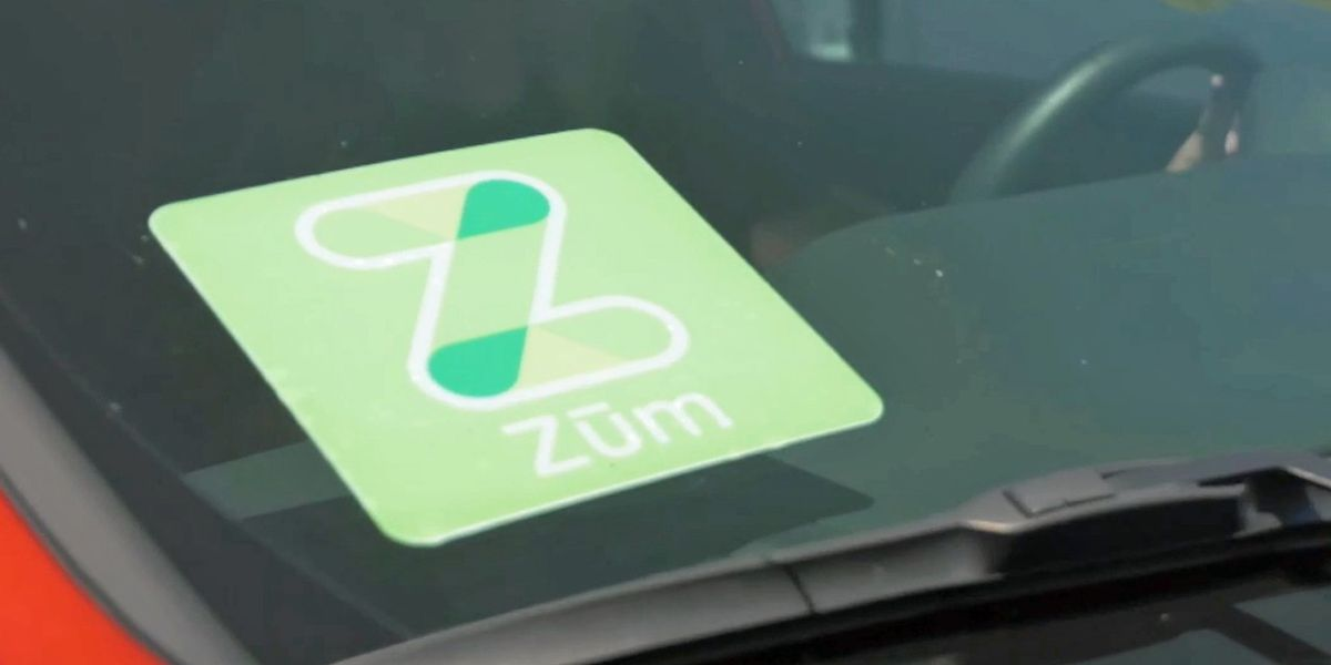Zum ridesharing company caters specifically to schools, students