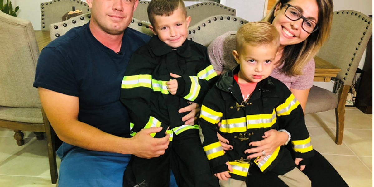 3-year-old 'viral hero' teaches CPR training is never too early