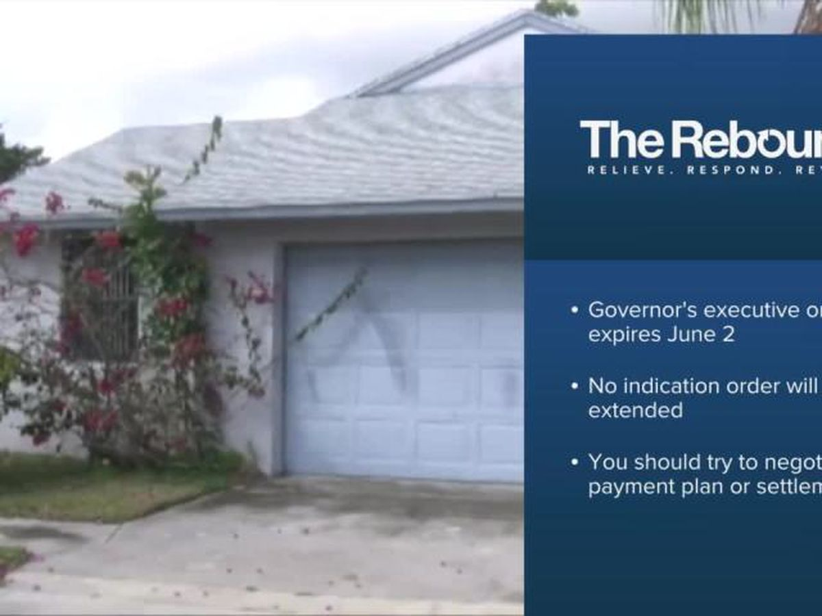 Evictions set to resume in Florida next week