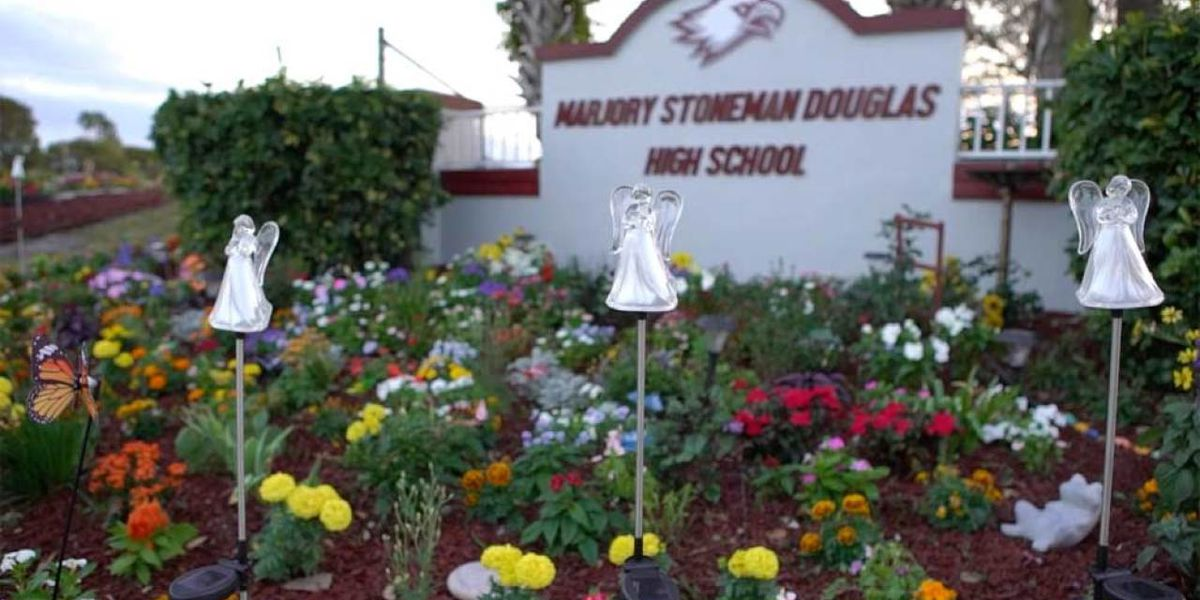 'Project Grow Love' offers quiet place to reflect outside Marjory Stoneman Douglas High School