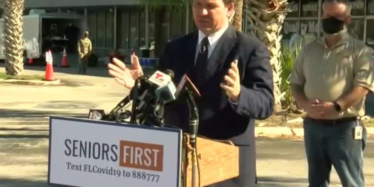 All Florida school employees can receive COVID-19 vaccine, governor says