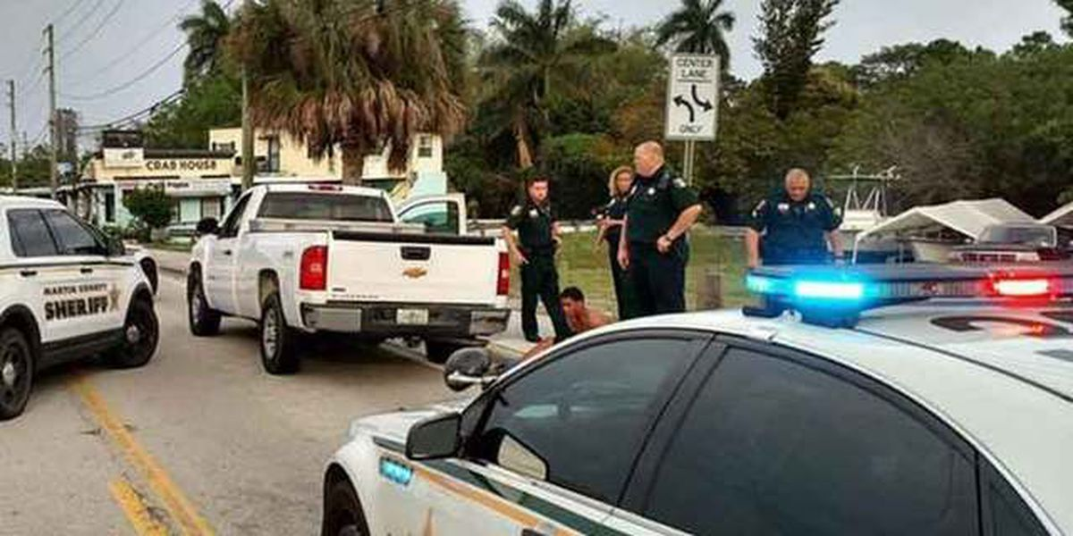 3 East Stuart men arrested after fight, shooting, chase