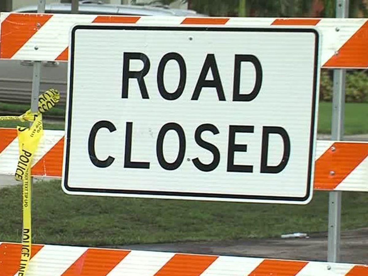 Sewer main break causes Greenacres road closure