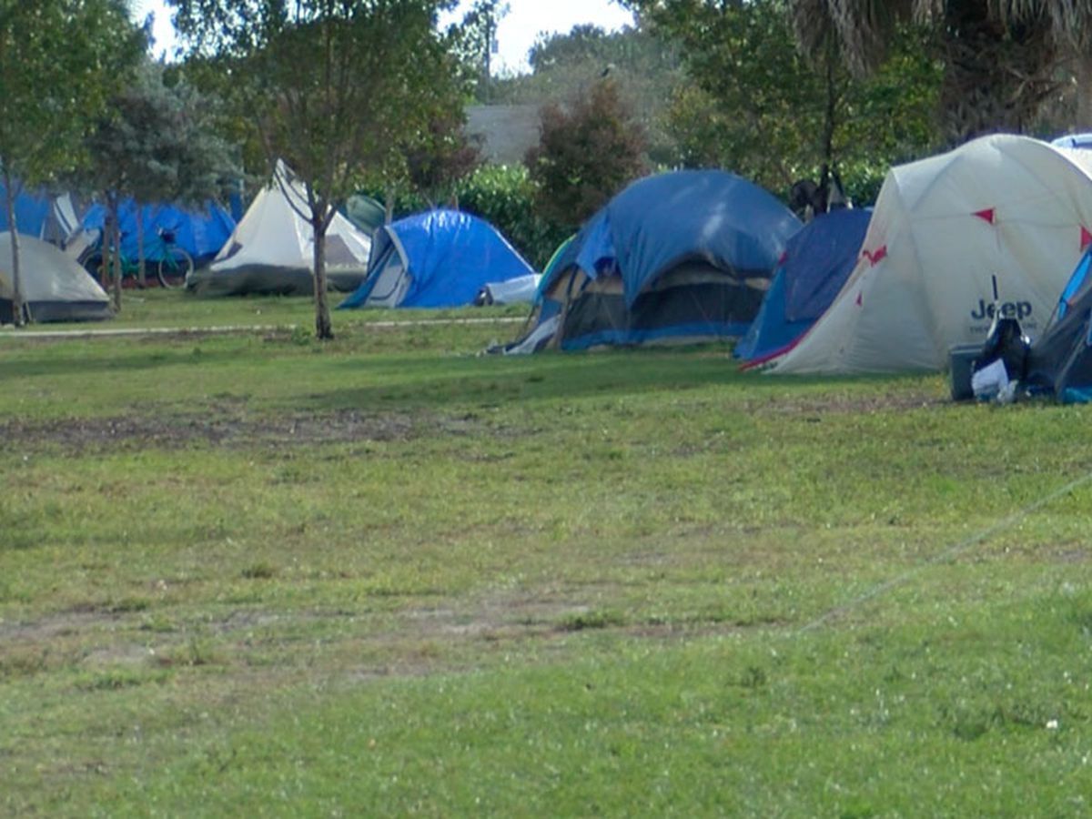Groups respond to homeless increase at John Prince Park