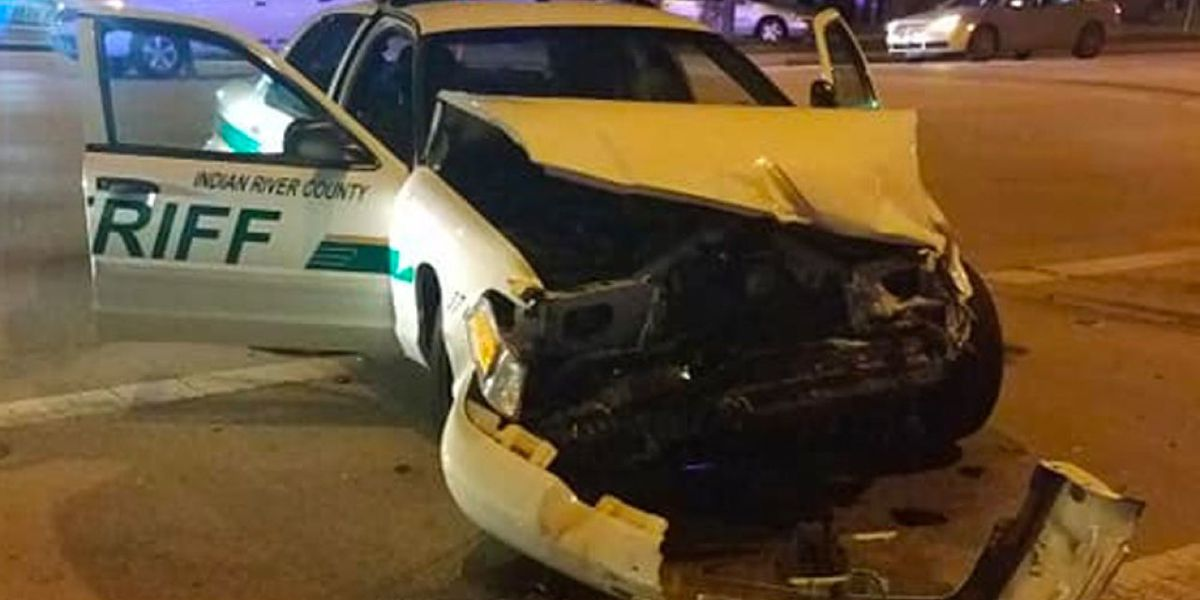 2 people, including Indian River County deputy, hurt in hit-and-run crash, sheriff's office says