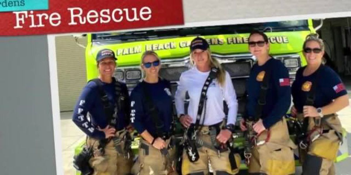 Historic moment: Fire rescue station staffed by all women