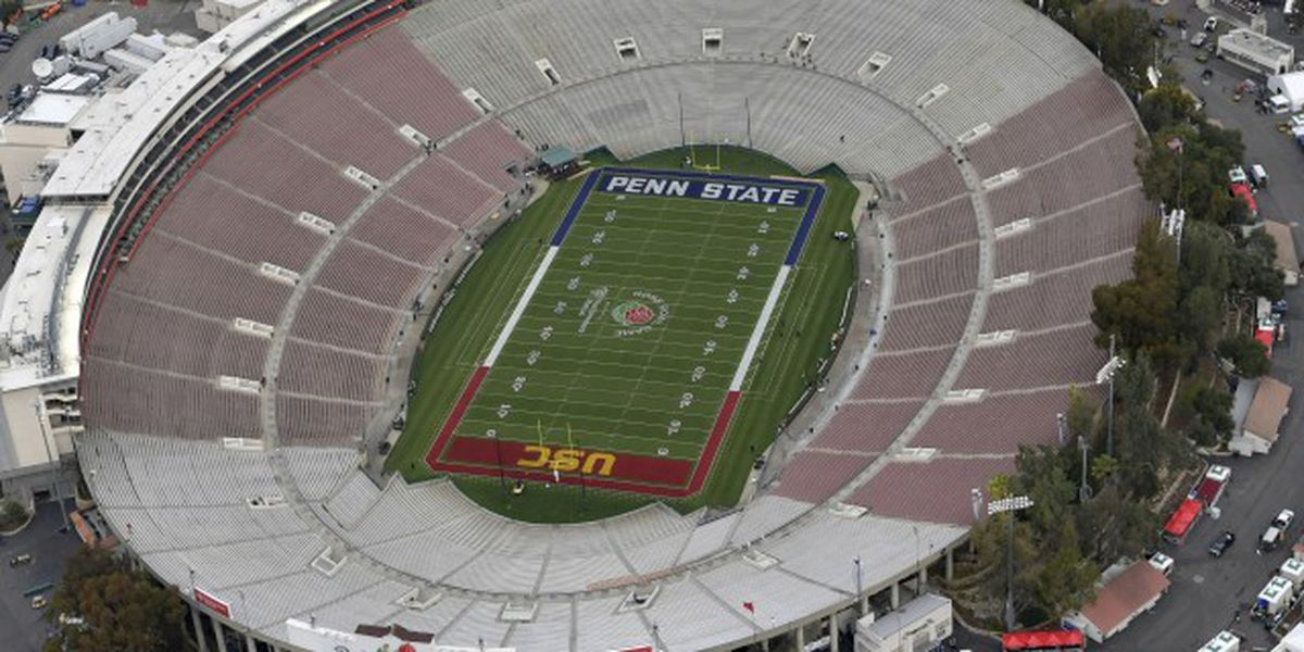 College Football Playoff semifinal at Rose Bowl moving to Texas