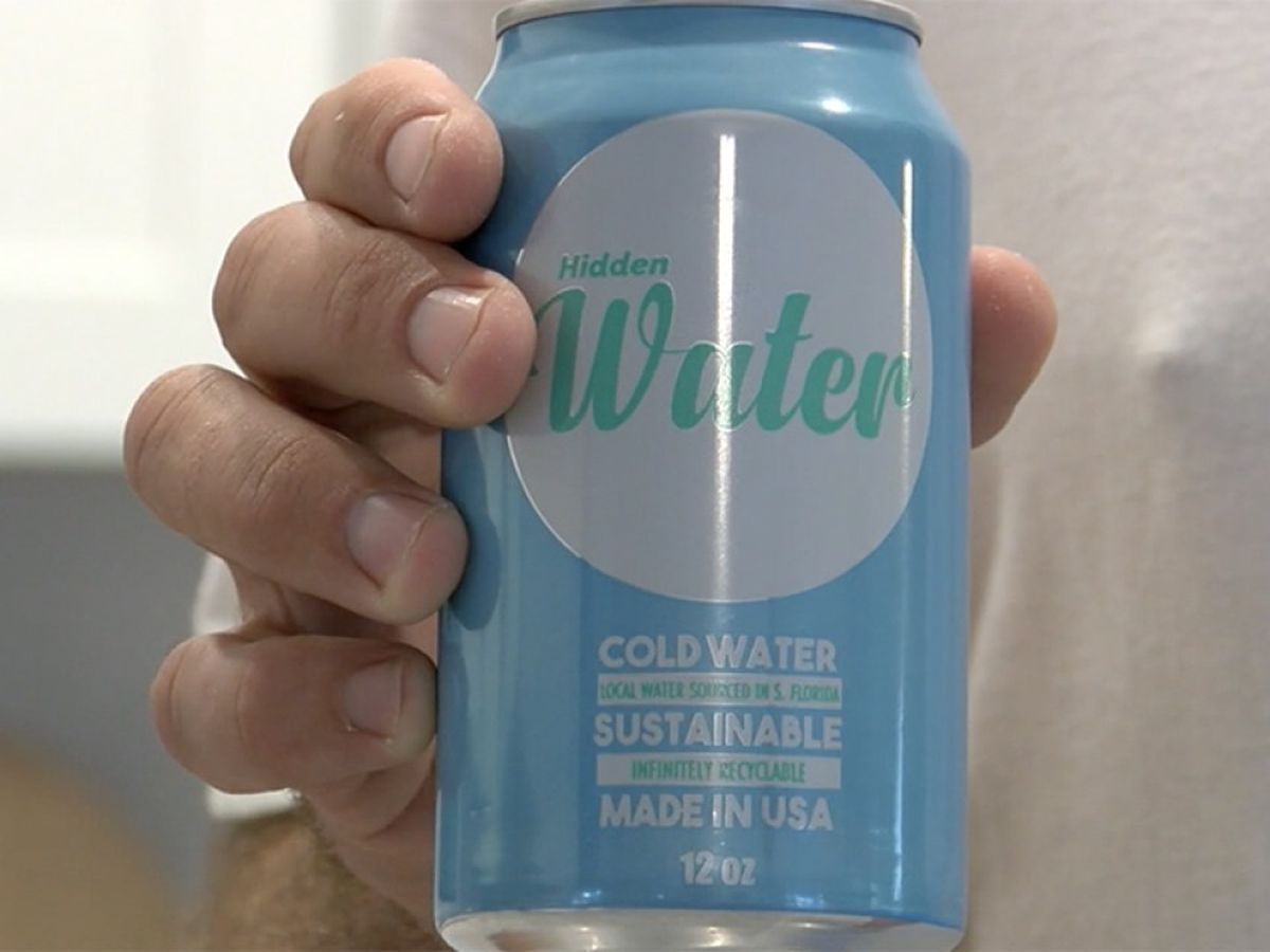 Hidden Water aims to reduce single-use plastics, protect waterways