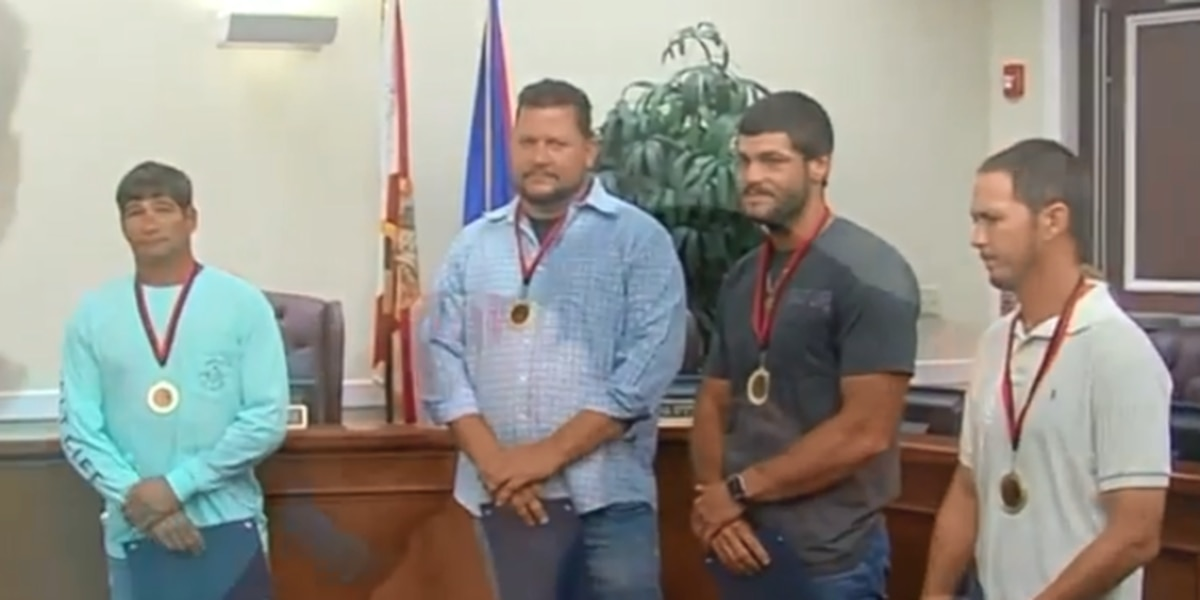 Citizen heroes honored in Fort Pierce