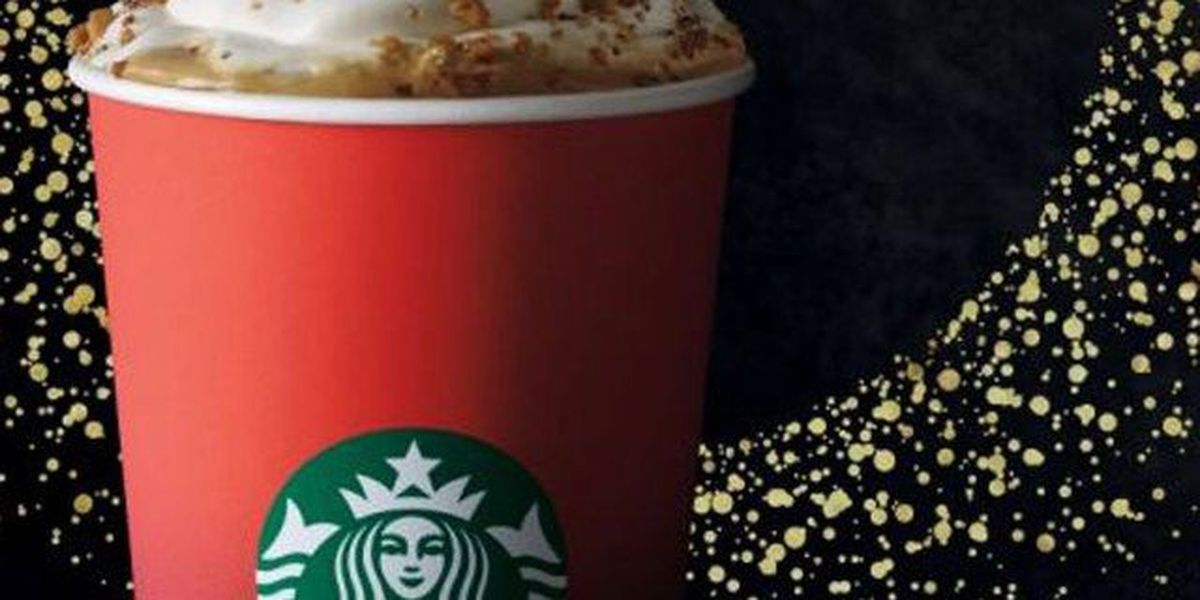 Red cups return with Starbucks holiday beverages
