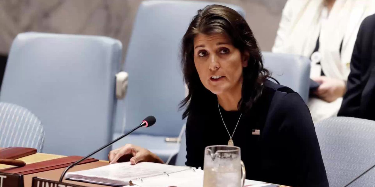 Haley Resigns As Trump's UN Ambassador