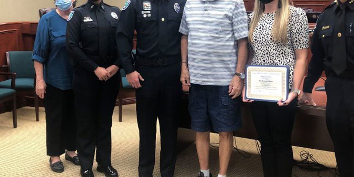 Principal honored for helping save life of Vero Beach runner