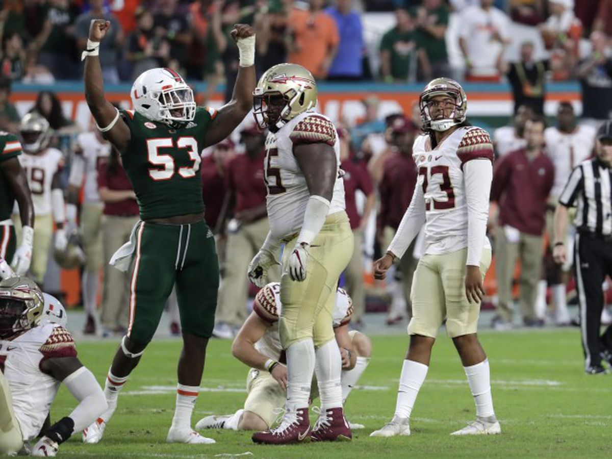 5 most memorable Miami wins versus Florida State
