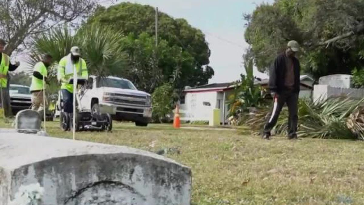 Unearthing history at a Treasure Coast cemetery