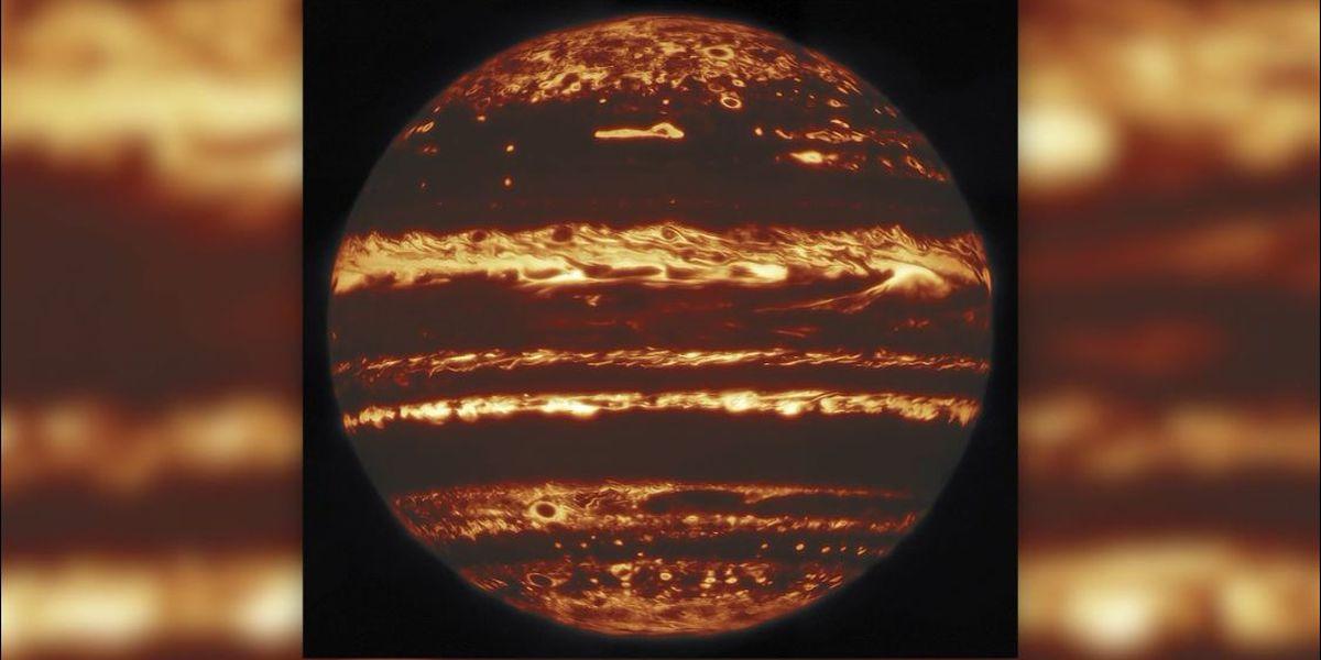 Telescope captures a historical image of Jupiter