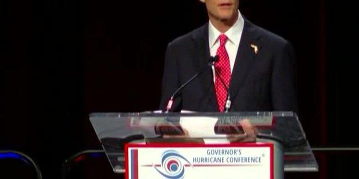 Gov. Rick Scott speaks at hurricane conference