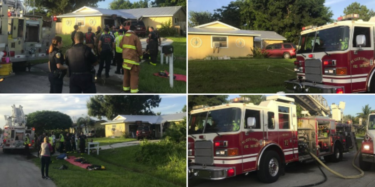 Lit candle causes fire in Port St. Lucie home