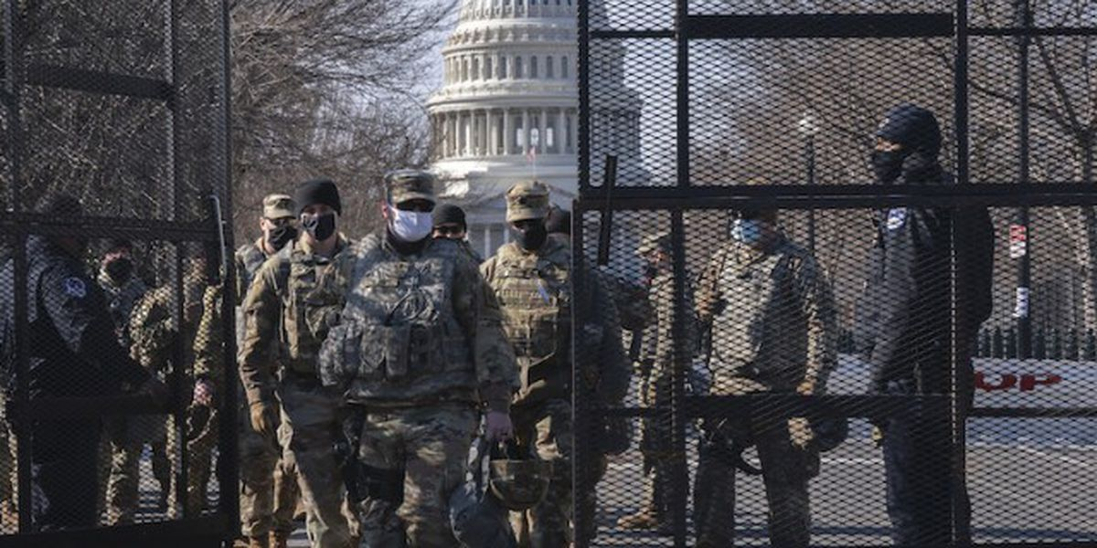 Fire near Capitol forces evacuation of inauguration rehearsal